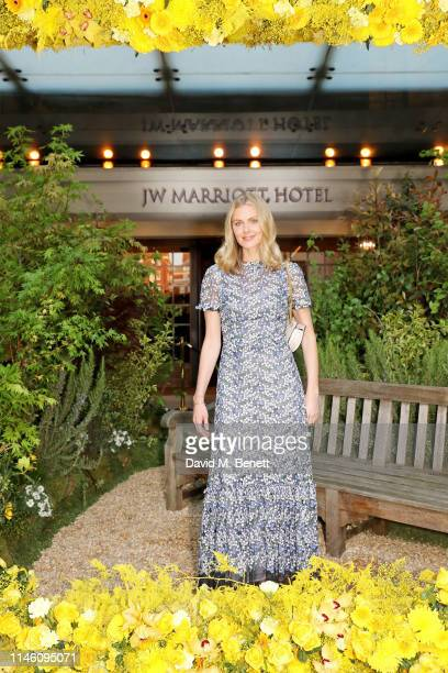 Donna Air celebrates the 90th Anniversary of JW Marriott Grosvenor House London on April 30, 2019 in London, England.