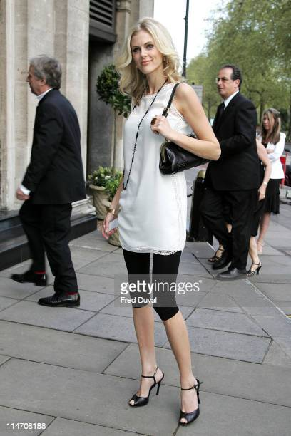 Donna Air during 2006 Sony Radio Academy Awards - Outside Arrivals at Grosvenor House in London, Great Britain, United Kingdom.