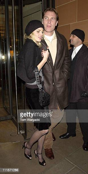 Donna Air during Celebrity Sightings at Cipriani's in London November 15 2005 at Cipriani in London Great Britain