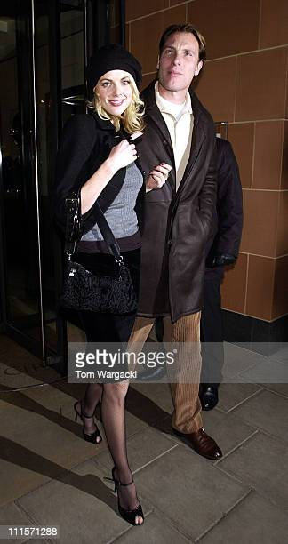 Donna Air during Celebrity Sightings at Cipriani's in London - November 15, 2005 at Cipriani in London, Great Britain.