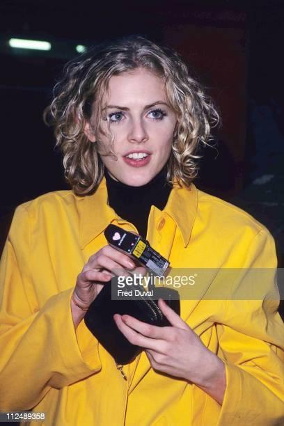 Donna Air during De La Guarda Press Night at London in London, United Kingdom.
