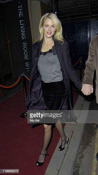 Donna Air during Living Room - Launch Party at Living Room in London, Great Britain.