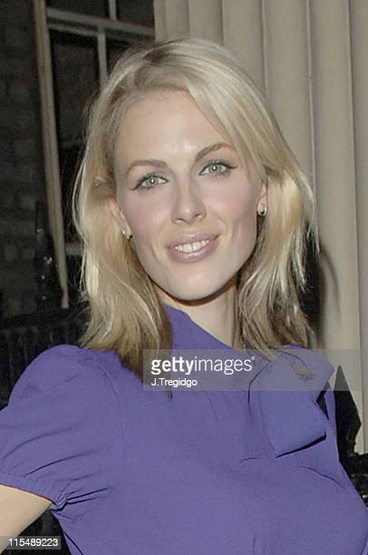 Donna Air during Tahitian Pearl Trophy Awards 2005 celeb update at Home House in London Great Britain
