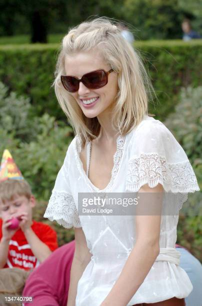 Donna Air during Will You Be My Primate Day at Hyde Park Sports Centre in London, Great Britain.