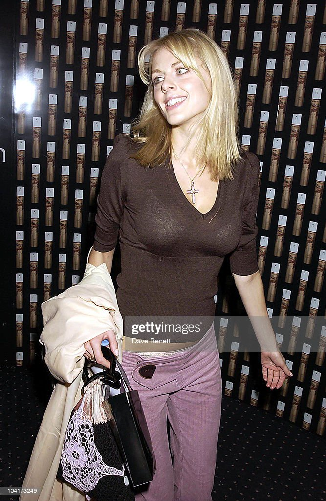 Donna Air, Frost French Fashion Tea Party At Bafta Cinema In Picadilly,turned The Normal Fashion Show On Its Head As The Audience Was Treated To A Film Of The Designers New Collection, London Fashion Week 2003