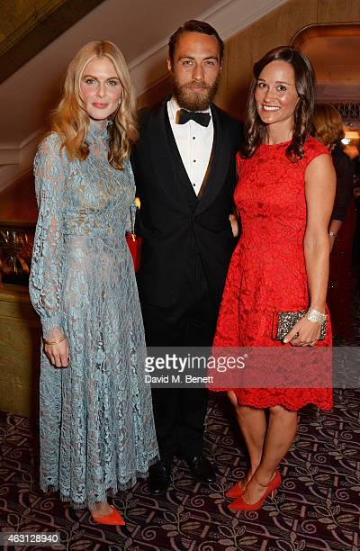 Donna Air James Middleton and Pippa Middleton attend the inaugural Roll Out The Red Ball in aid of the British Heart Foundation at The Park Lane...