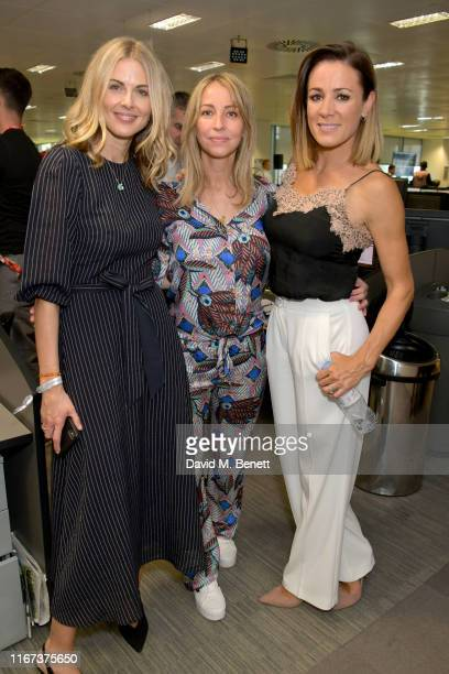 Donna Air representing Elephant Family, Natalie Appleton representing Elephant Family and Natalie Pinkham representing Hopes and Homes for Children...