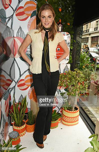Donna Air takes part in the Cointreau project at Liberty London on November 14 2016 in London England
