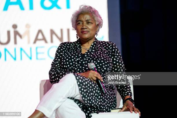 Donna Brazile attends the 25th Essence Festival at the Ernest N Morial Convention Center on July 05 2019 in New Orleans Louisiana