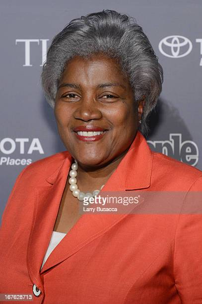Donna Brazile attends the PEOPLE/TIME Party On The Eve Of The White House Correspondents' Dinner on April 26 2013 in Washington DC