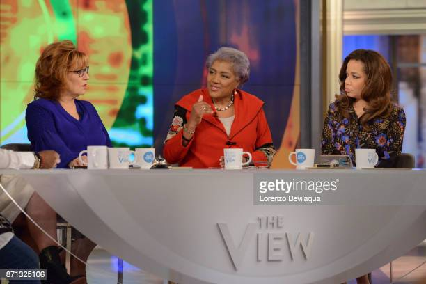 THE VIEW Donna Brazile is the guest Tuesday November 7 2017 on ABC's 'The View' 'The View' airs MondayFriday on the ABC Television Network HOSTIN