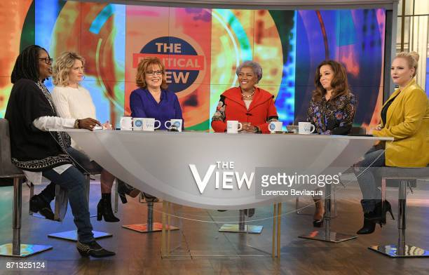 THE VIEW Donna Brazile is the guest Tuesday November 7 2017 on ABC's 'The View' 'The View' airs MondayFriday on the ABC Television Network HAINES