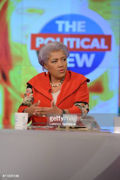 THE VIEW Donna Brazile is the guest Tuesday November 7 2017 on Walt Disney Television via Getty Images's The View The View airs MondayFriday on the...