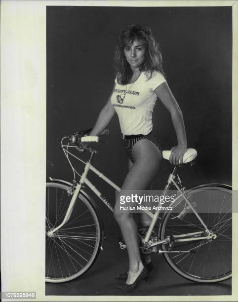 Donna Burns Penthouse pet of the year *****You could win a brand new bike and meet showbiz stars in a great bikeathon soonYou'll be Riding For A Kid...