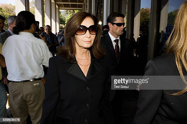 Donna Clarkson mother of actress Lana Clarkson arrives at court A mistrial was declared in the murder case against Phil Spector the jury deadlocked...