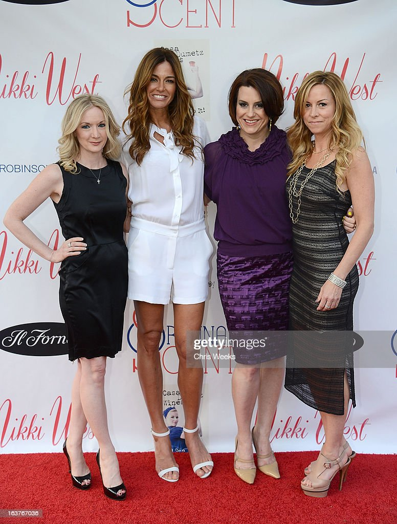 Donna Clower, reality television personality Kelly Bensimon and Marley Majcher attends the Original Scent launch at Nikki West Boutique on March 14, 2013 in Pasadena, California.