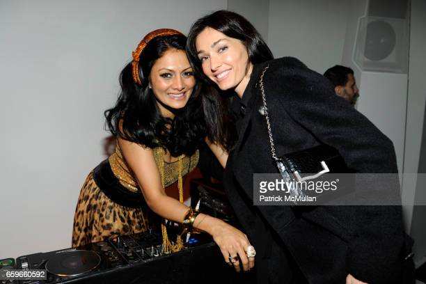 Donna D'Cruz and Dara Tomanovich attend BRIAN ATWOOD and BYRDIE BELL Host ROLE PLAY RENE at 201 Mulberry St on March 19 2009 in New York City