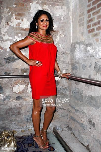 Donna D'Cruz attends PAPER MAGAZINE's KIM HASTREITER and DAVID HERSHKOVITS host a Dinner for RIHANNA to Celebrate Her PAPER Cover at D'OR at Amelia...