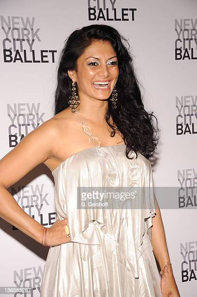 Donna D'Cruz attends the New York City Ballet's 2010 Dance with the Dancers benefit at the David H. Koch Theater, Lincoln Center on June 14, 2010 in...