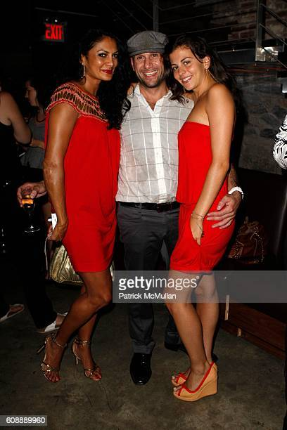 Donna D'Cruz Justo Artigas and Nina Clemente attend PAPER MAGAZINE's KIM HASTREITER and DAVID HERSHKOVITS host a Dinner for RIHANNA to Celebrate Her...