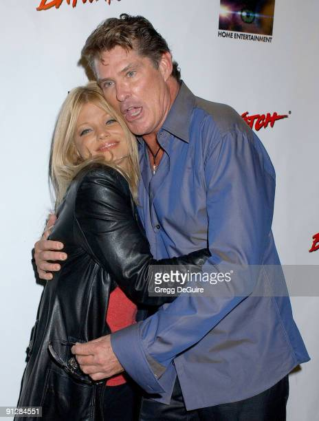 Donna D'Errico and David Hasselhoff