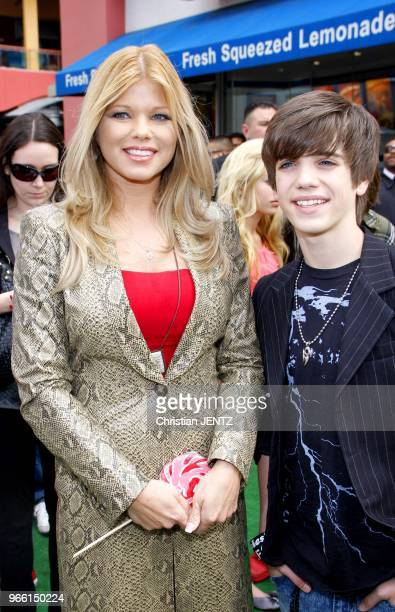 Donna D'Errico at the Los Angeles Premiere of Hop held at the Universal Studios Hollywood on March 27 2011 in Hollywood Los Angeles Usa
