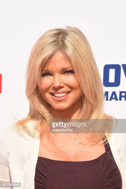 Donna D'Errico attends the The Baywatch SlowMo Marathon at Microsoft Square on April 22 2017 in Los Angeles California