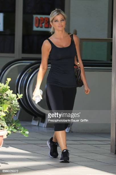 Donna D'Errico is seen on June 14 2017 in Los Angeles California