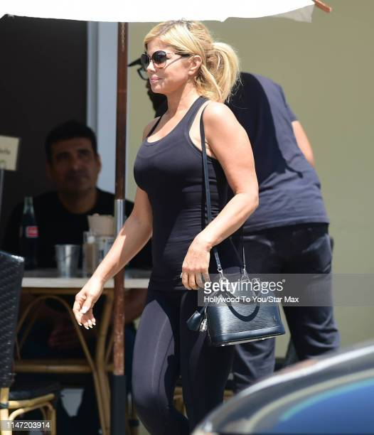 Donna D'Errico is seen on May 31 2019 in Los Angeles California