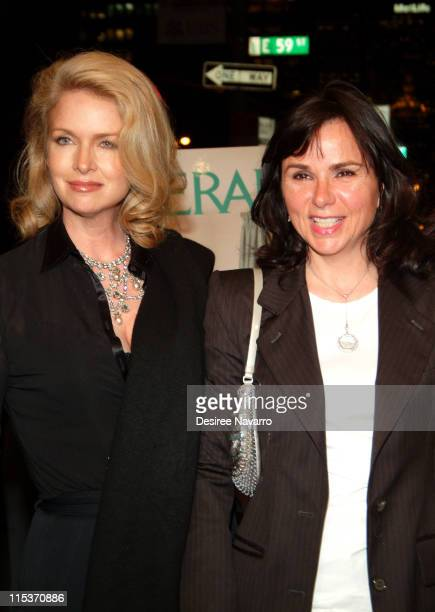 """Donna Dixon and Patty Smyth during Donald Trump Hosts the Opening Night Reception of """"Veranda: New York's Best at Trump Park Avenue, The Ultimate..."""