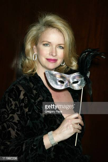 """Donna Dixon during The Jewish Museum's 17th Annual Gala Masked Ball in Celebration of Purim-""""Hooray for Hollywood"""" Theme at The Waldorf Astoria-Grand..."""