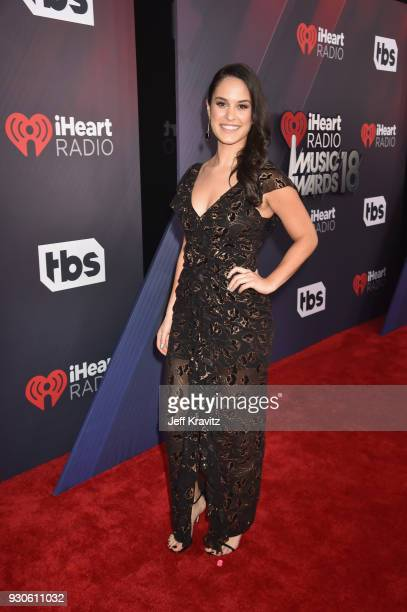 Donna Farizan attends the 2018 iHeartRadio Music Awards which broadcasted live on TBS TNT and truTV at The Forum on March 11 2018 in Inglewood...