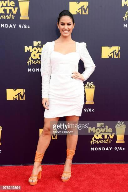 Donna Farizan attends the 2018 MTV Movie And TV Awards at Barker Hangar on June 16 2018 in Santa Monica California