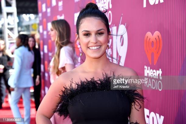 Donna Farizan attends the 2019 iHeartRadio Music Awards which broadcasted live on FOX at Microsoft Theater on March 14 2019 in Los Angeles California