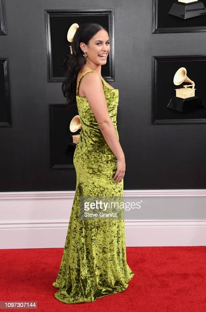 Donna Farizan attends the 61st Annual GRAMMY Awards at Staples Center on February 10 2019 in Los Angeles California