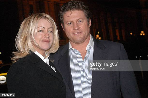 23/08/02 Donna Fowkes Peter Phelps at the opening night party of The Witches Of Eastwick At the Plaza Ballroom in Melbourne Victoria Australia