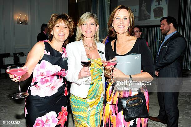 Donna Gerard Lisa Brannigan and Maryann Smith attend AIG Private Client Group and Lifestylist Advisory Celebrate the Launch of Couture Coverage at...