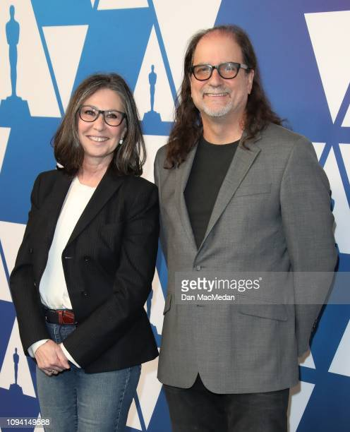 Donna Gigliotti and Glenn Weiss attend the 91st Oscars Nominees Luncheon at The Beverly Hilton Hotel on February 4 2019 in Beverly Hills California