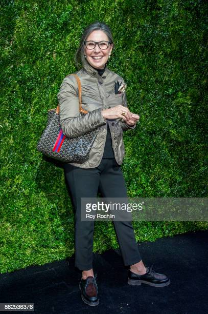 Donna Gigliotti attends Through Her Lens The Tribeca Chanel Women's Filmmaker Program Luncheon at Locanda Verde on October 17 2017 in New York City