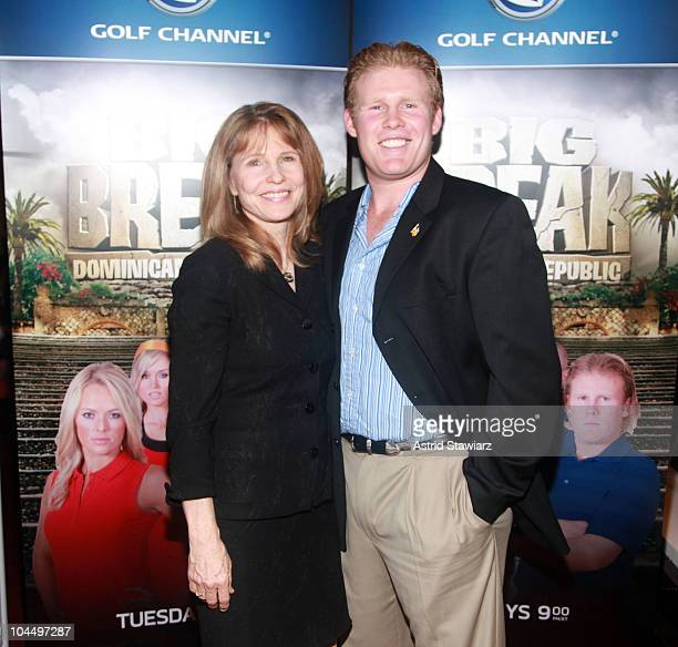 Donna Hanover and Andrew Giuliani attend the Golf Channel's Big Break Dominican Republic screening at Le Cirque on September 27 2010 in New York City