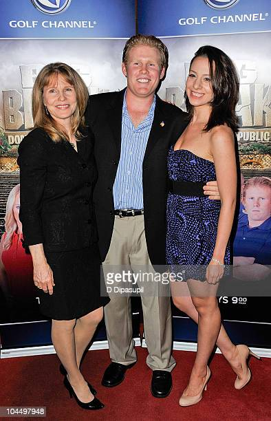 Donna Hanover Andrew Giuliani and American figure skater Sarah Hughes attend the Golf Channel's Big Break Dominican Republic screening at Le Cirque...