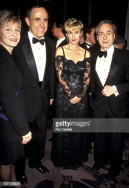 Donna Hanover Rudolph Giuliani Tina Brown and Harold Evans