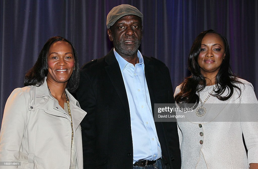 Donna Houston, Gary Houston and Pat Houston attend the GRAMMY Museum press event for 'Whitney! Celebrating the Musical Legacy of Whitney Houston' at The GRAMMY Museum on August 15, 2012 in Los Angeles, California.