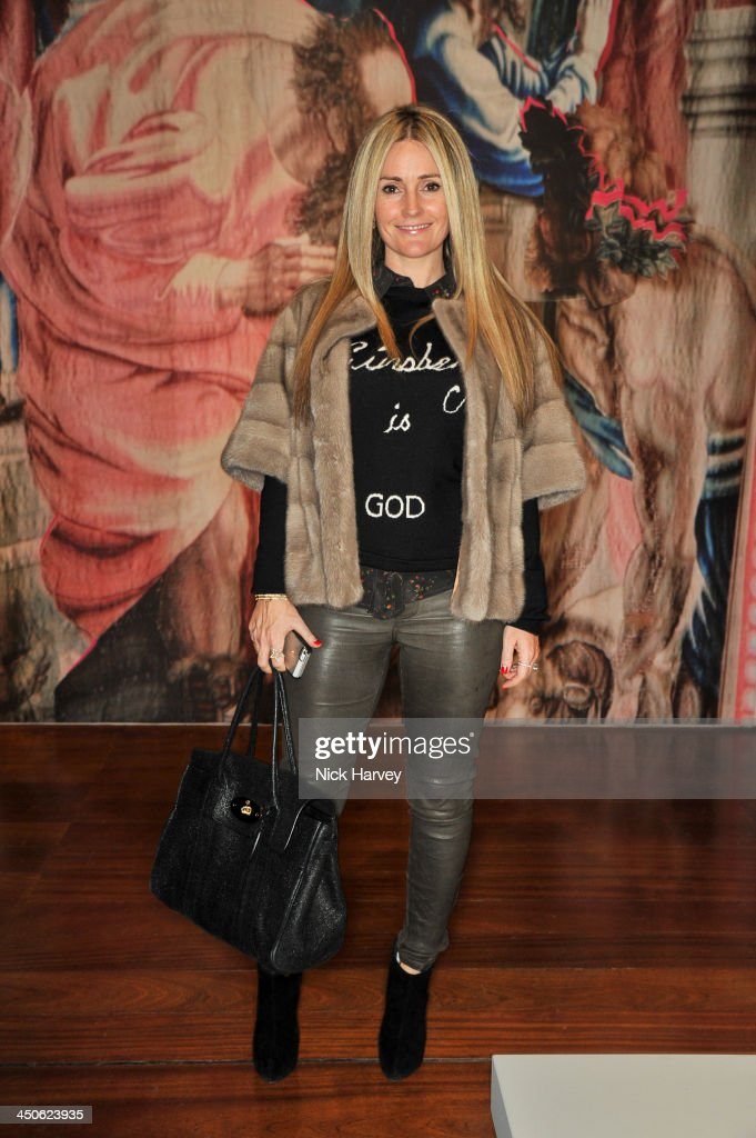 Donna Ida attends the private view of Isabella Blow: Fashion Galore! Party at Somerset House on November 19, 2013 in London, England.