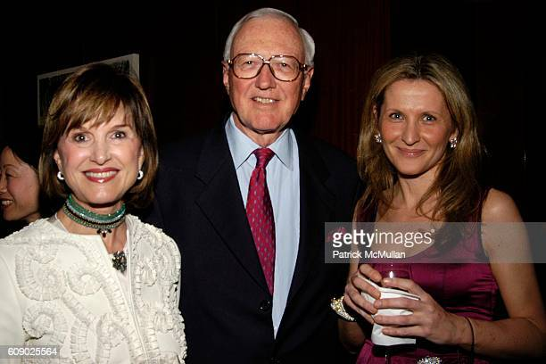 Donna Josey Robert Meahl and Enrica ArengiBentivoglio attend A Benefit for The American Hospital of Paris Foundation Honoring Gael Greene at Daniel...