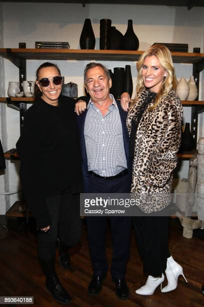 Donna Karan Alec Gores and Kelly Noonan Gores attend Premiere Screening Of Heal Documentary As Part Of Urban Zen Holiday Experience Featuring Panel...