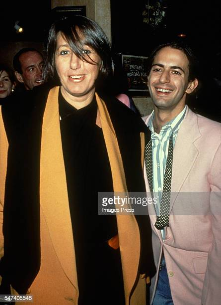 Donna Karan and Marc Jacobs attend the Grand Opening of Planet Hollywood on October 22 1991 in New York City