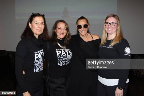 Donna Karan and the Urban Zen Integrative Therapist attend Premiere Screening Of Heal Documentary As Part Of Urban Zen Holiday Experience Featuring...