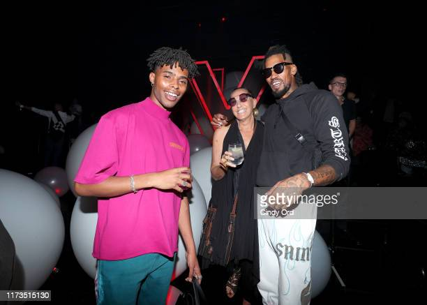 Donna Karan attends as DKNY turns 30 with special live performances by Halsey and The Martinez Brothers at St Ann's Warehouse on September 09 2019 in...