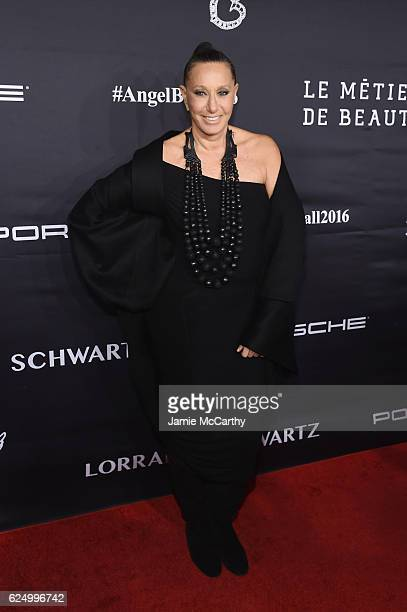 Donna Karan attends the 2016 Angel Ball hosted by Gabrielle's Angel Foundation For Cancer Research on November 21 2016 in New York City